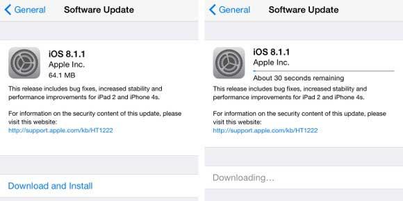 آپدیت جدید اپل برای آیفون 4S و iPad 2