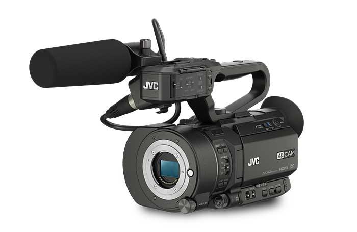 دوربین فیلمبرداری 4k jvn