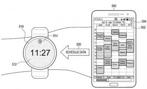 طرح جدید سامسونگ برای ساعت هوشمند