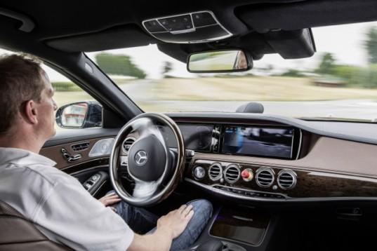 همکاری مرسدس و ال جی برای ساخت ماشین بدون راننده