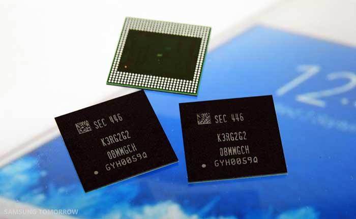 حافظه 4 گیگابایتی ram سامسونگ وارد چرخه تولید شد