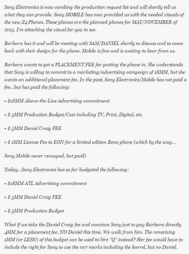 افشای اطلاعات در مورد حضور z4 سونی در فیلم آینده جیمزباند
