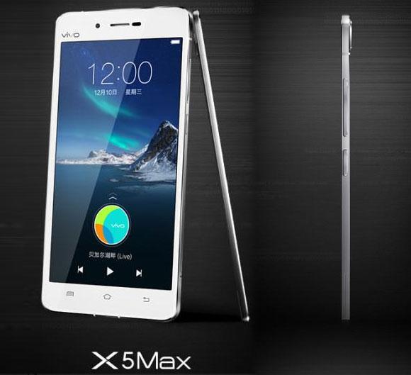 باریک ترین گوشی جهان vivo x5 max