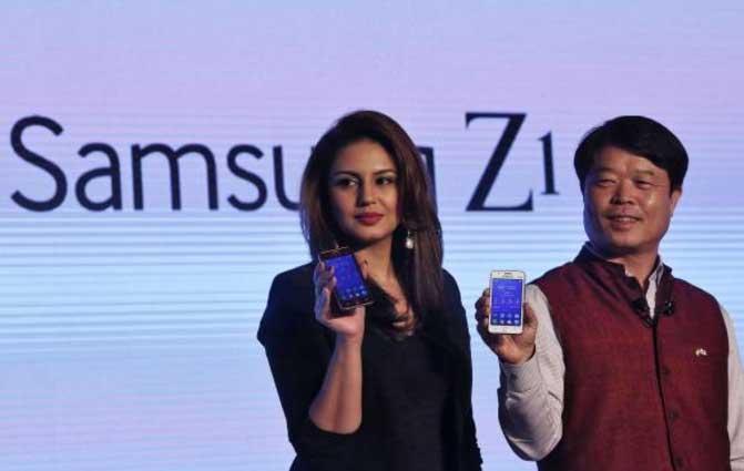 فروش پایین سامسونگ z1 در هند