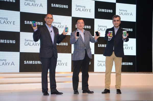نمایش چهار گوشی جدید برای بازار هند از سوی سامسونگ
