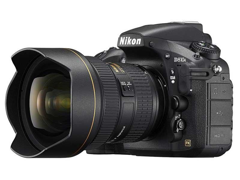 نیکون D810A دوربینی مخصوص عکاسی ستارگان!