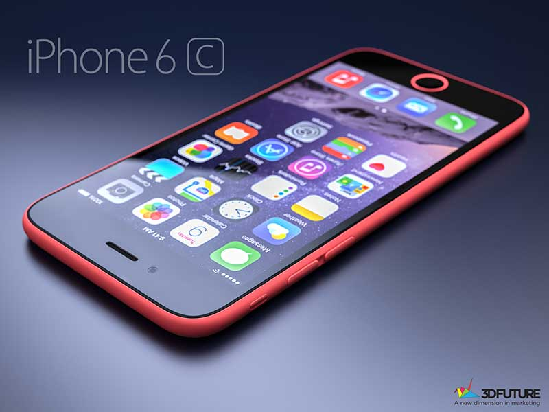 iPhone 6C پلاستیکی