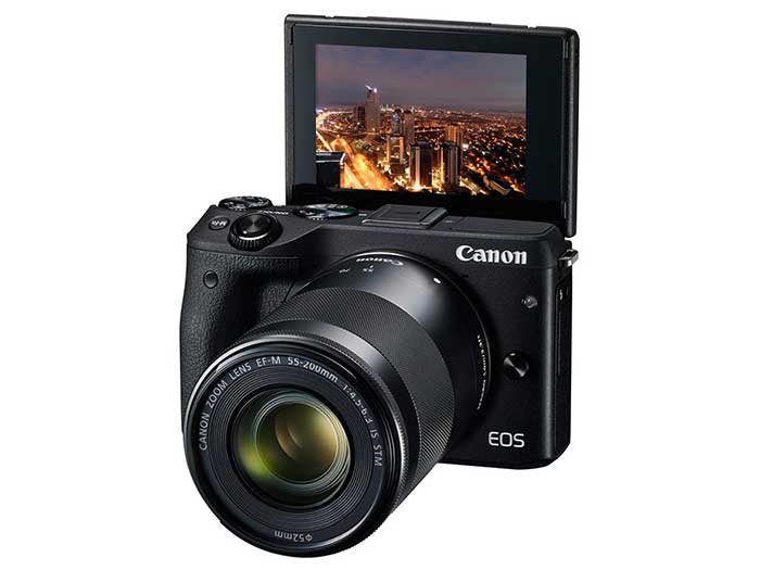 معرفی دوربین پیشرفته بدون آینه EOS M3 کانن