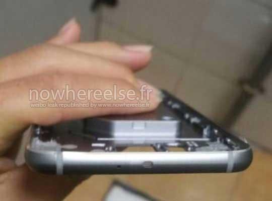 تصاویر شاسی فلزی Galaxy S6