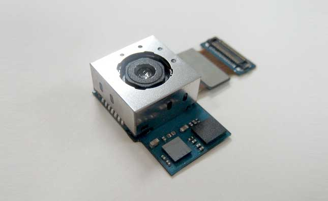 سنسور 8 مگاپیکسلی سامسونگ برای دوربین جلو