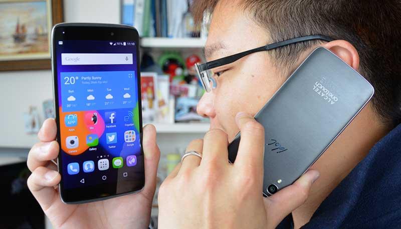 گوشی دو طرفه آلکاتل IDOL 3 معرفی شد