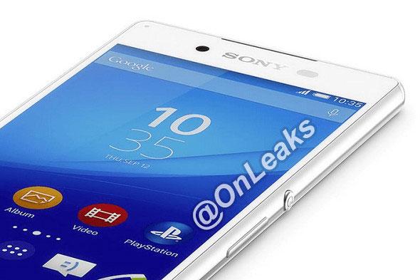 انتشار تصویر رسمی Sony XPERIA Z4
