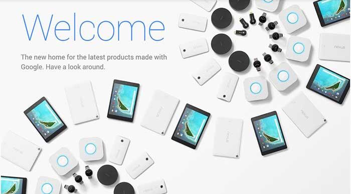 فروشگاه سختافزاری جدید گوگل