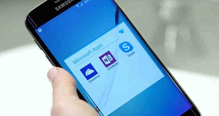 ارائه اپلیکیشنهای مایکروسافت در گوشیهای سامسونگ