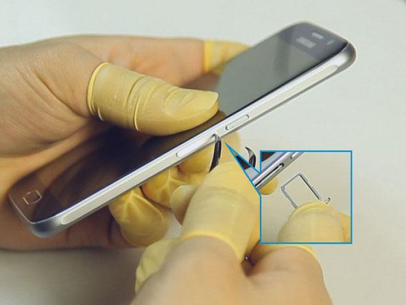 چگونگی تعویض باتری در Samsung Galaxy S6
