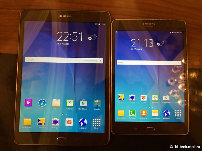 معرفی تبلت های جدید Galaxy Tab A از سامسونگ