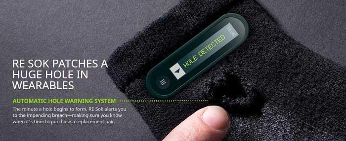 HTC Re SOK - جوراب هوشمند اچ تی سی در دروغ اول آوریل
