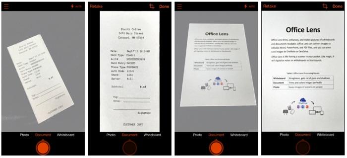 ارائه آفیس لنز برای iOS و اندروید