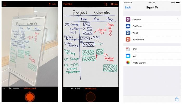 برنامه Office Lens - ارائه آفیس لنز برای iOS و اندروید