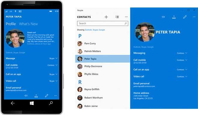 تغییرات جدید در ویندوز 10 برای موبایل
