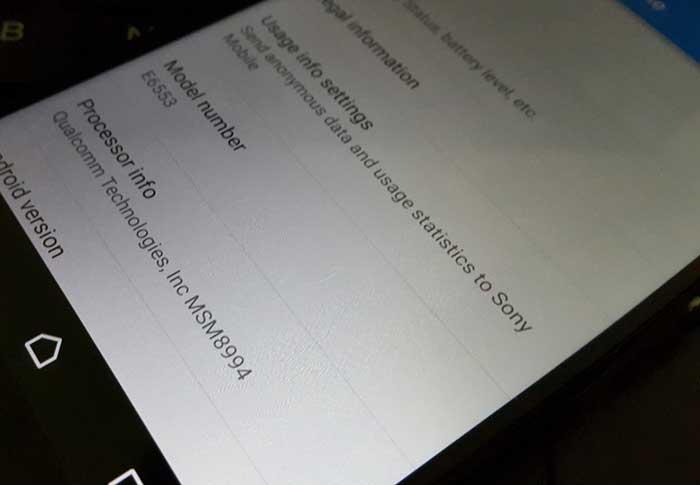 تصاویر دقیق Sony XPERIA Z4
