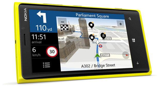 فروش سیستم نقشه Nokia HERE