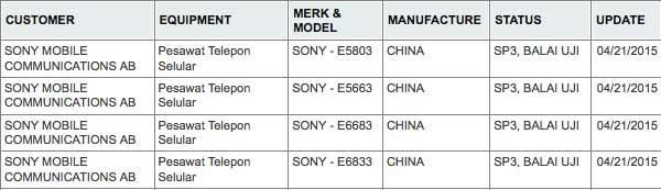 اطلاعات جدید در مورد Z4 Compact و Z4 Ultra سونی