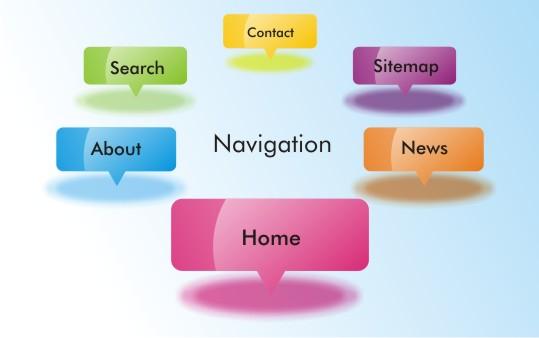 صفحات جداگانه در طراحی سایت