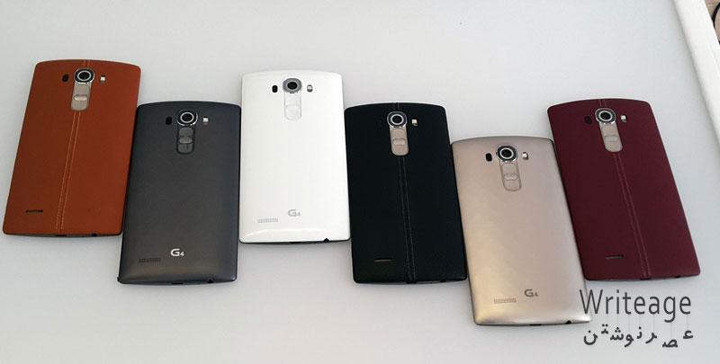 هندز آن گوشی LG G4