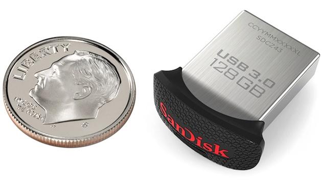 کوچکترین فلش درایو دنیا از سن دیسک