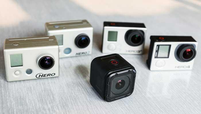 دوربین جدید gopro hero 4 session
