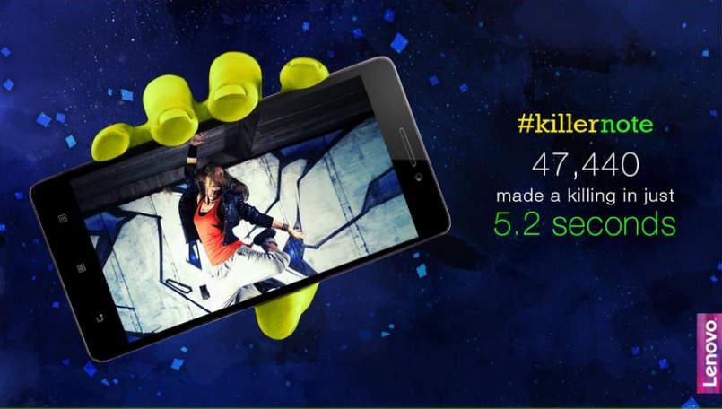 رکورد فروش لنوو k3 در هند