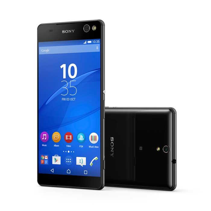 معرفی رسمی اسمارت فون های C5 ultra و M5 از سوی سونی