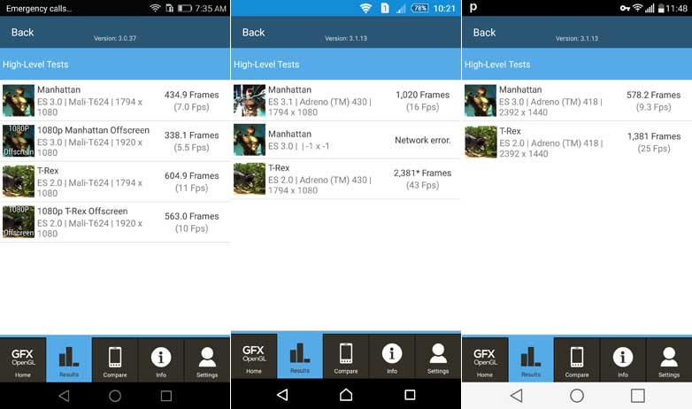 مقایسه سه گوشی g4، p8 و z3 plus