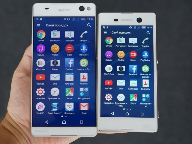 اطلاعات در مورد گوشیهای C5 و M5 سونی