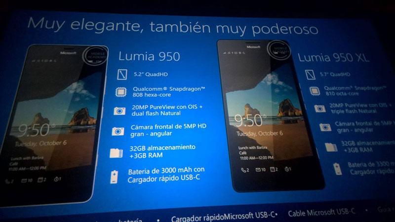 Lumia 950XL - اطلاعات کامل لومیا 950 و لومیا 950xl