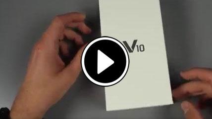 بازگشایی جعبه اسمارتفون پرچمدار جدید LG V10