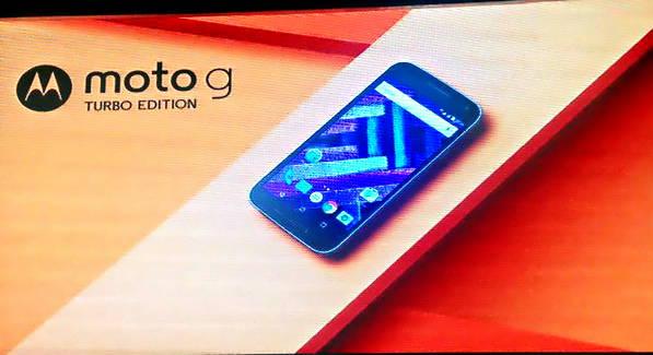معرفی رسمی موتورولا Moto G turbo edition