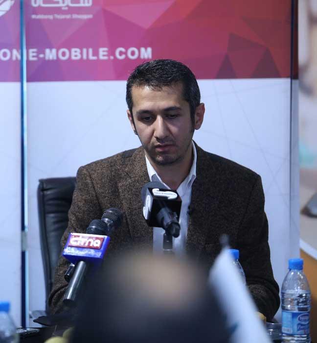 مراسم رونمایی از گوشی الفون در ایران