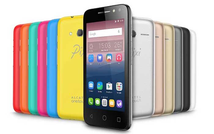 Alcatel Pixi 4 4 - گوشی ها و تبلت های جدید آلکاتل برای CES 2016