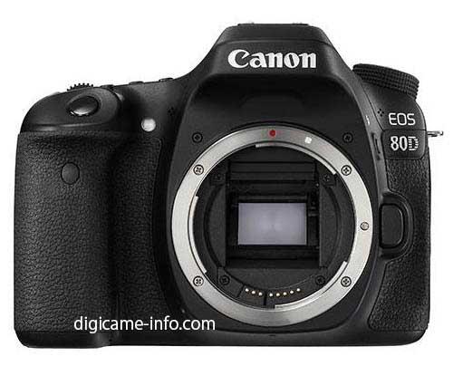 اطلاعات اولیه در مورد دوربین کانن eos 80d