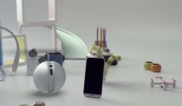 معرفی رسمی LG G5 در نمایشگاه MWC 2016