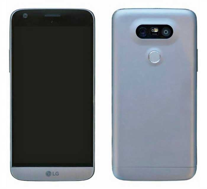 منتشر شدن تصویر واقعی LG G5