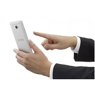 این گوشی ویندوز 10 وایو است: Phone Biz