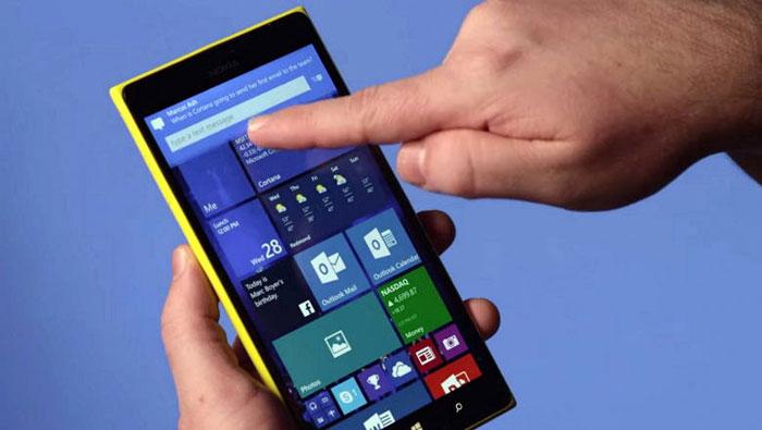 ارتقا محدودیت سایز ویندوز 10 موبایل به 9 اینچ