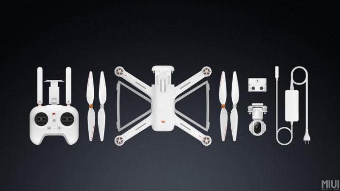 معرفی رسمی پهپاد شائومی mi drone