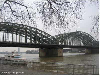 Rhine River Koln