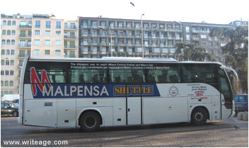 Malpensa Airport Shuttle Bus
